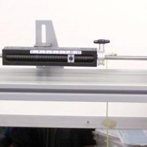 Data Points for the spring launcher are 0.2 and 1.2 as marked on the launcher itself. Make sure  that the cart is up against the plunger and trigger from the 0.2 mark, then measure the distance the cart travels. Reset the launcher to the 1.2 mark and repeat the experiment. The ratios of the distances traveled should be about 1:4.