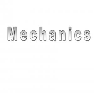 The following list refers to manuals and files for support equipment used for demonstrating mechanics